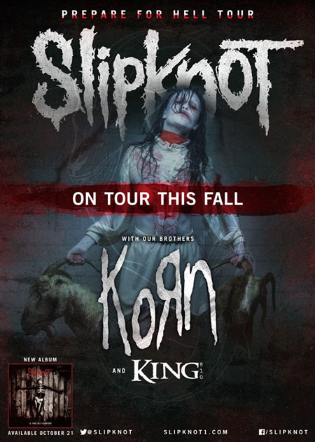 Slipknot - Prepare For Hell Tour