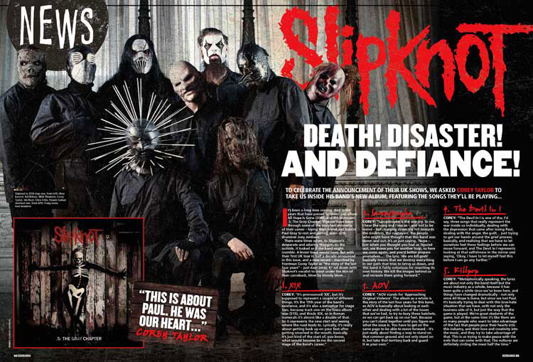 Slipknot Kerrang! Magazine