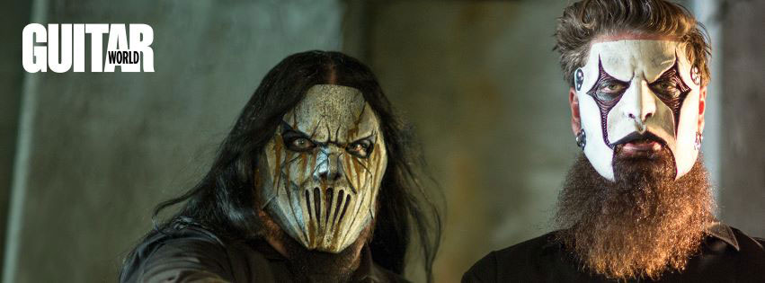 Jim Root and Mick Thomson - Slipknot - Guitar World 2014