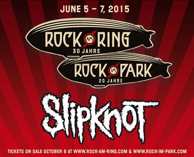 Slipknot - Rock Am Ring and Rock Im Park 2015