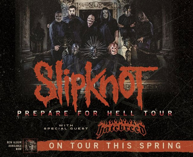 Slipknot - Prepare For Hell Tour U.S. 2015